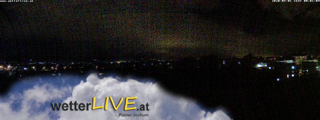Rückblick: Das Webcambild von 0 Uhr