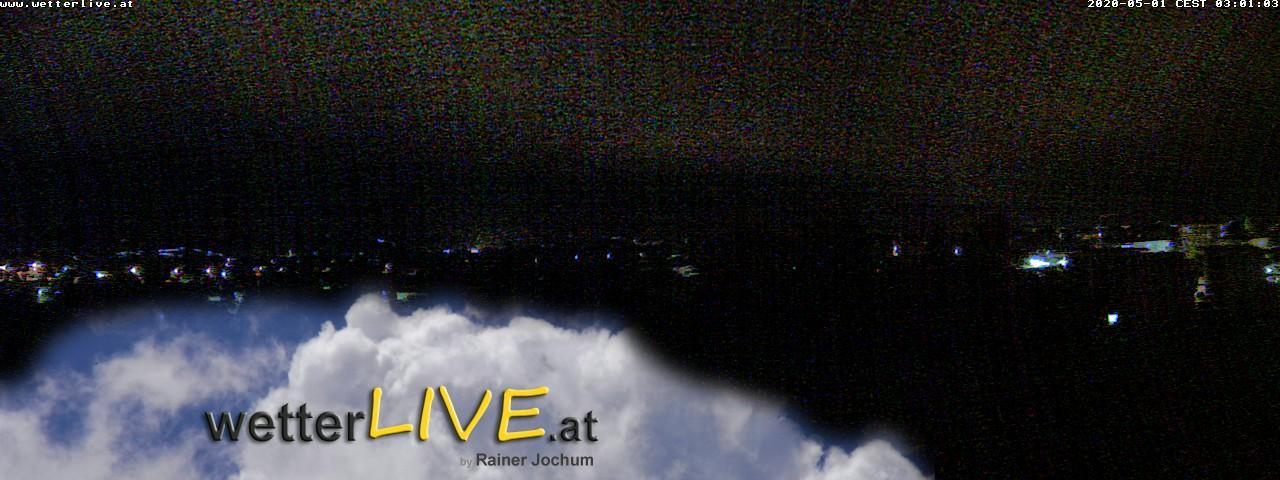 Rückblick: Das Webcambild von 3 Uhr
