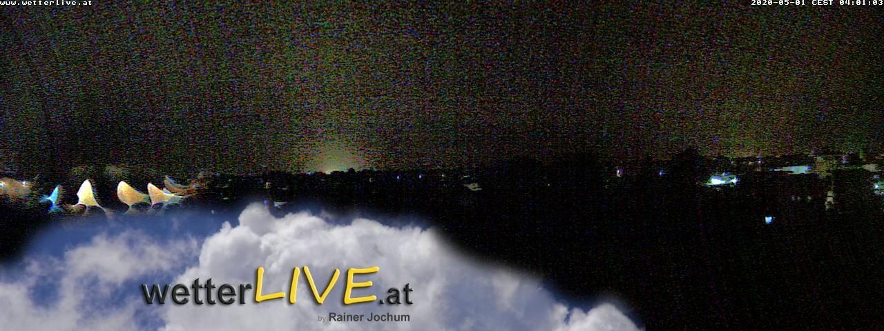 Rückblick: Das Webcambild von 4 Uhr