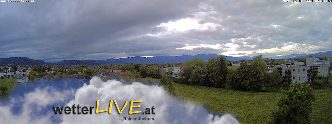 Rückblick: Das Webcambild von 6 Uhr