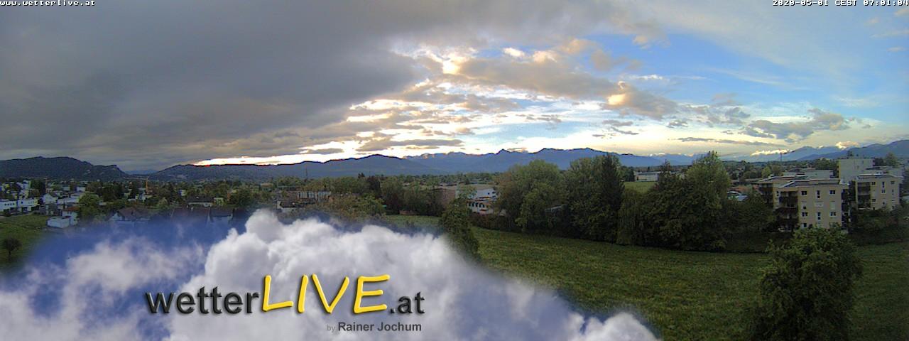Rückblick: Das Webcambild von 7 Uhr