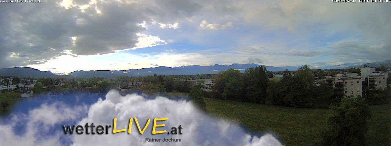 Rückblick: Das Webcambild von 8 Uhr