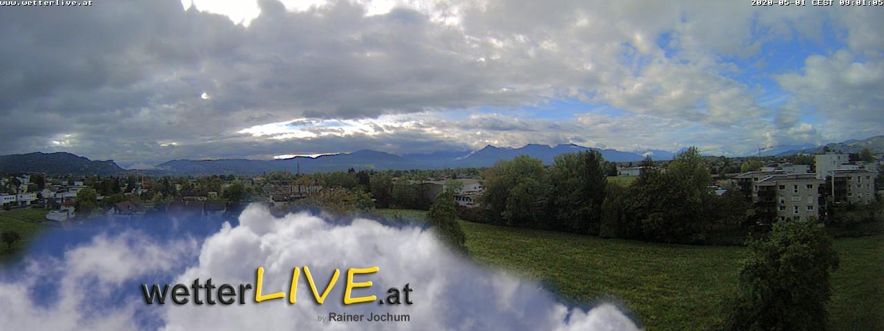 Rückblick: Das Webcambild von 9 Uhr
