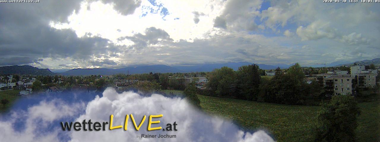 Rückblick: Das Webcambild von 10 Uhr