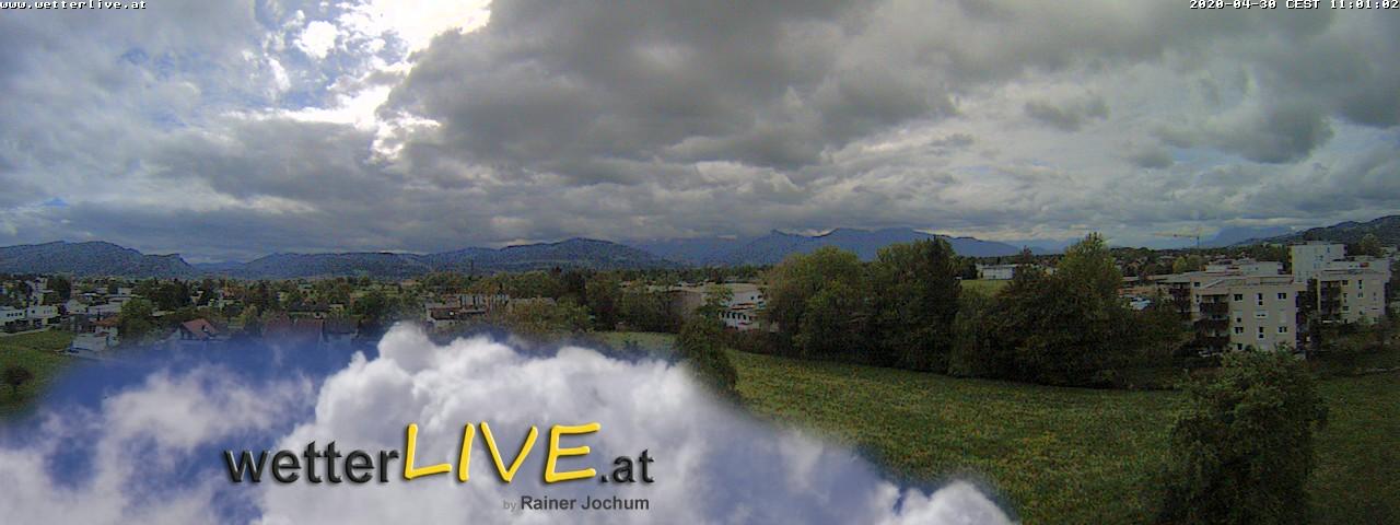 Rückblick: Das Webcambild von 11 Uhr