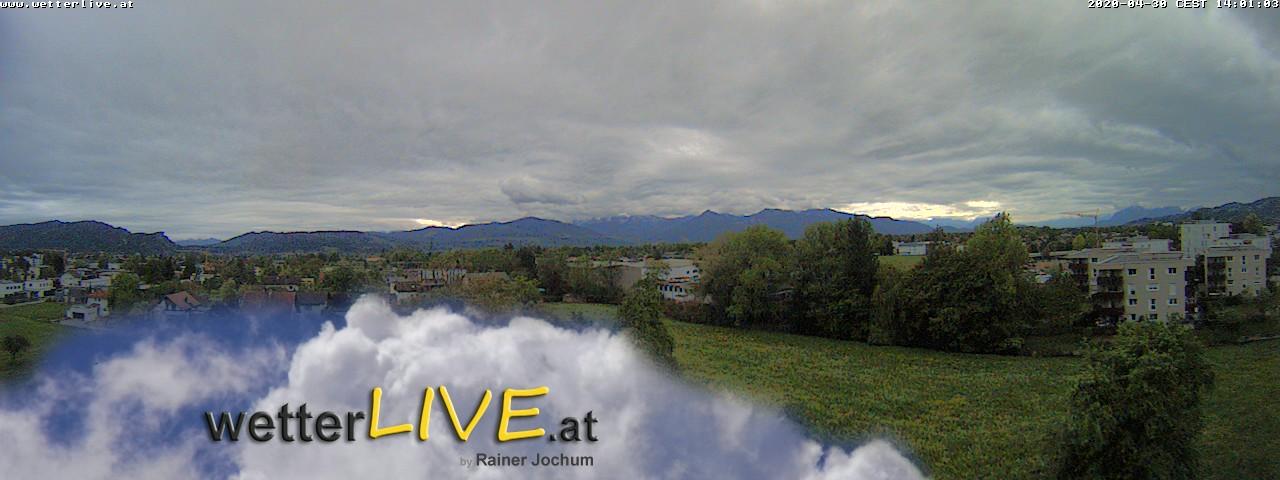 Rückblick: Das Webcambild von 14 Uhr