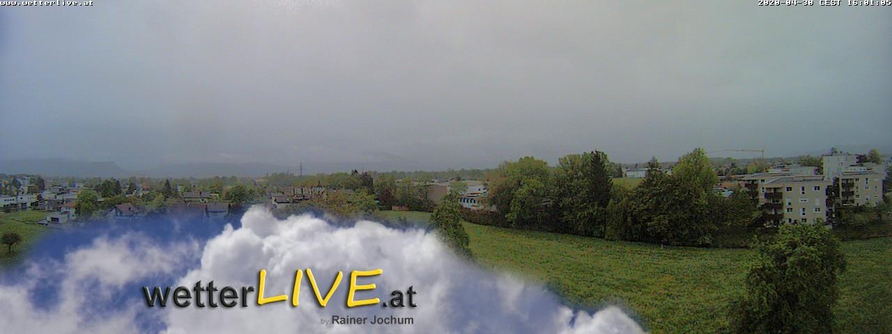 Rückblick: Das Webcambild von 16 Uhr