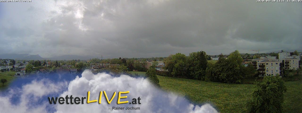 Rückblick: Das Webcambild von 17 Uhr