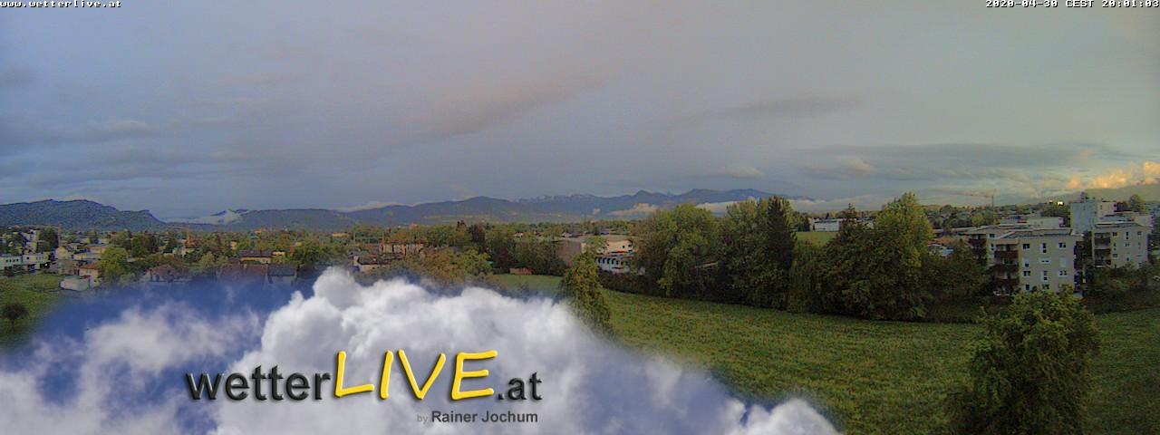 Rückblick: Das Webcambild von 20 Uhr