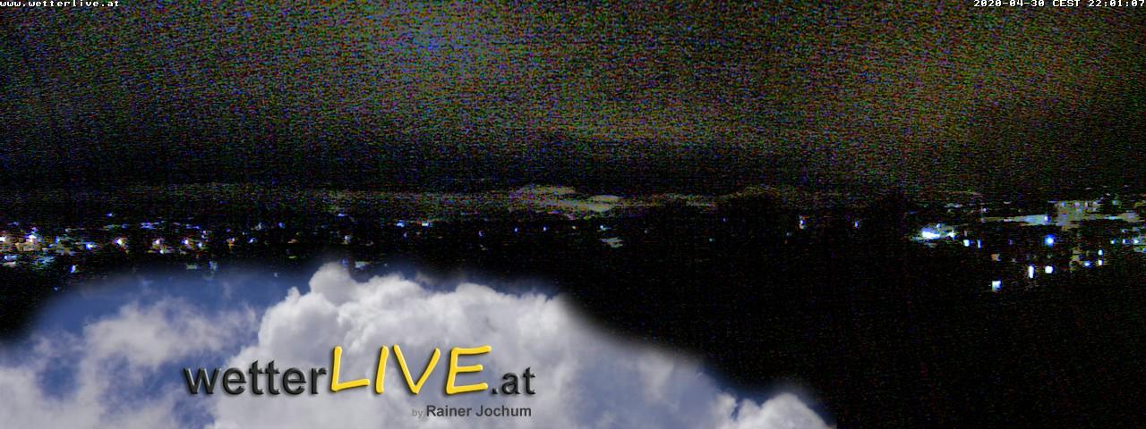 Rückblick: Das Webcambild von 22 Uhr