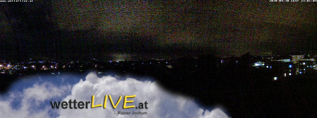 Rückblick: Das Webcambild von 23 Uhr